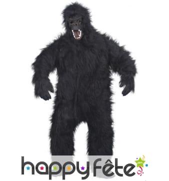 Déguisement grand gorille noir