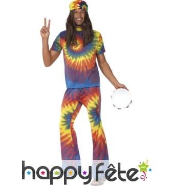 Déguisement hippie années 60