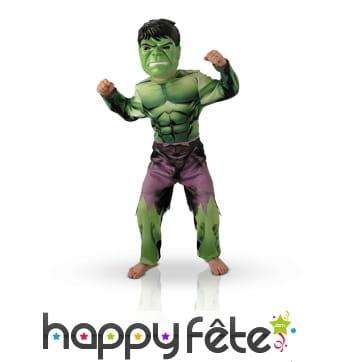 Déguisement hulk avengers pour enfant