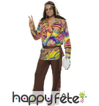 Déguisement hippie cool