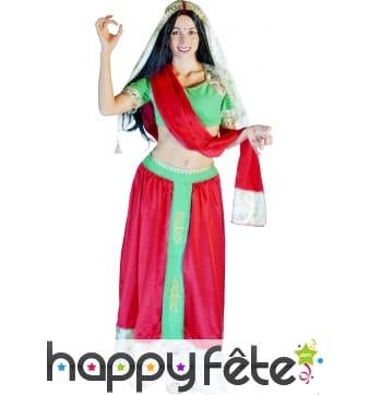 Déguisement hindou femme