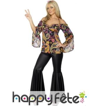 Déguisement hippie femme années 70
