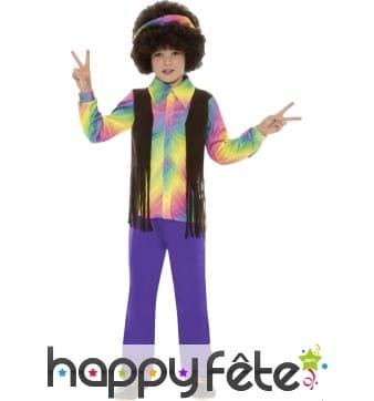 Déguisement hippie garcon