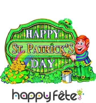 """Décor """"Happy saint patrick's day"""""""