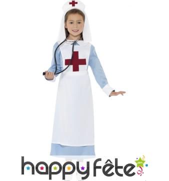 Déguisement infirmière 1ere guerre mondiale enfant