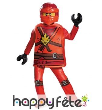 Déguisement Kai Ninjago pour enfant, LEGO