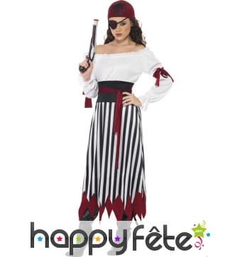 Déguisement lady pirate