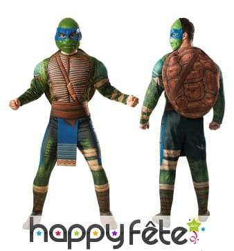 Déguisement Léonardo tortue ninja adulte