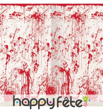 Decor mural avec sang