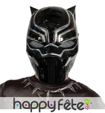 Demi masque black panther pour enfant