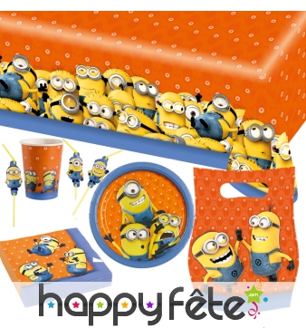 Décorations Minions d'anniversaire