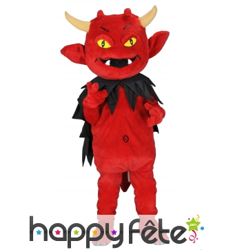Déguisement mascotte diable