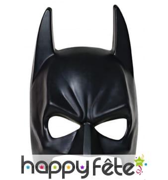 Demi masque de Batman pour adulte