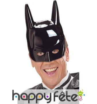 Demi masque de batman pour homme