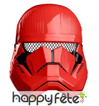 Demi masque de Sith Trooper pour enfant
