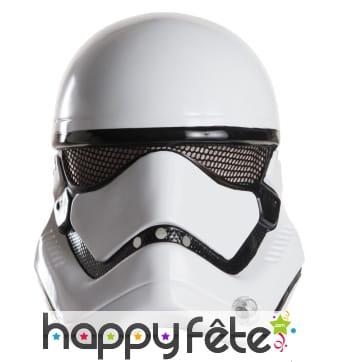Demi masque de stormtrooper Star Wars 7