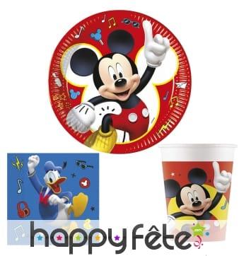 Déco Mickey et ses amis pour table d'anniversaire
