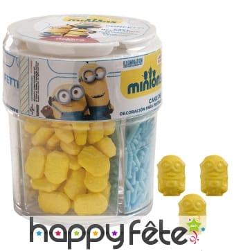 Décorations Minions en sucre
