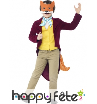 Déguisement Mr Fox pour enfant
