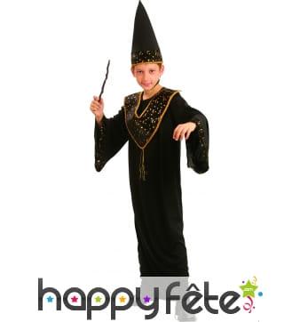 Déguisement magicien garcon