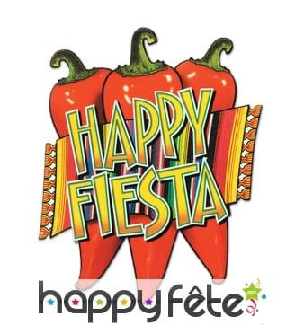 Décoration mexicaine happy fiesta