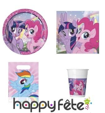 Déco My Little Pony & Friends pour anniversaire