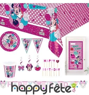 Déco Minnie pour anniversaire
