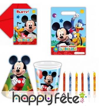Décos Mickey pour anniversaire