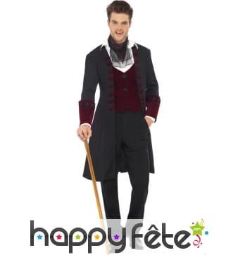 Déguisement manteau vampire gothique