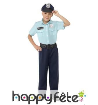 Déguisement officier de police pour garçon