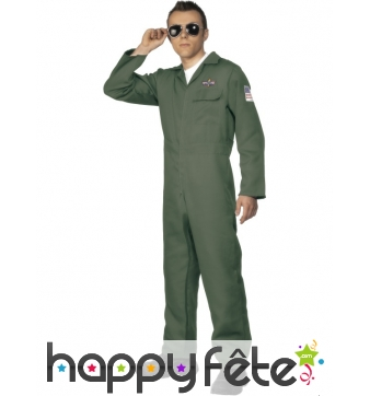 Déguisement pilote américain