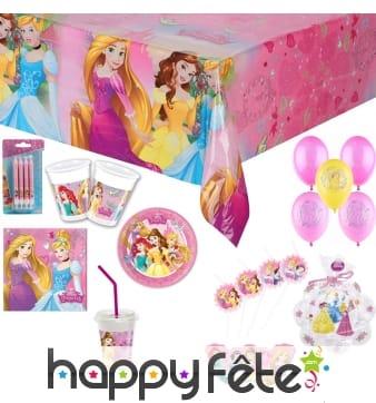 Déco Princesses Disney pour anniversaire