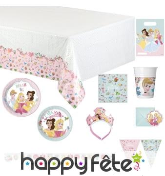 Déco Princesses Disney pour table d'anniversaire