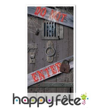 Décoration porte de cachot pour porte