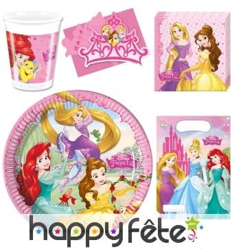 Décorations princesses Disney d'anniversaire