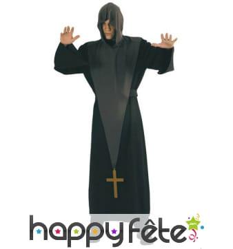 Déguisement prêtre exorciste