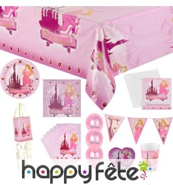 Décorations Princesse pour table d'anniversaire