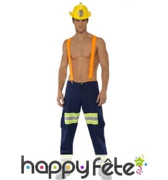 Déguisement pompier sexy homme