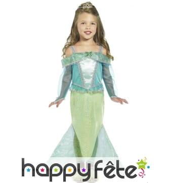 Déguisement princesse sirène