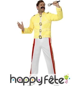 Déguisement queen Freddie Mercury