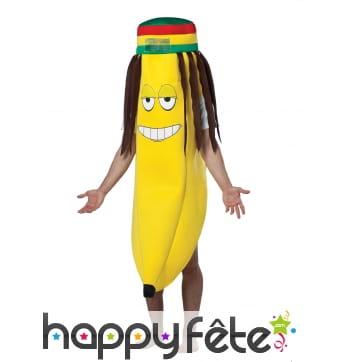 Déguisement Rasta banane
