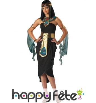 Déguisement robe de cléopatre pour femme