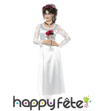 Déguisement robe de mariée jour des morts
