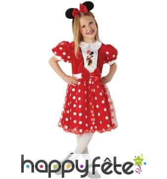 Déguisement robe de Minnie pour fillette