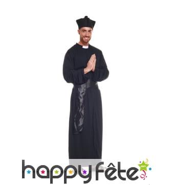 Déguisement robe de prêtre