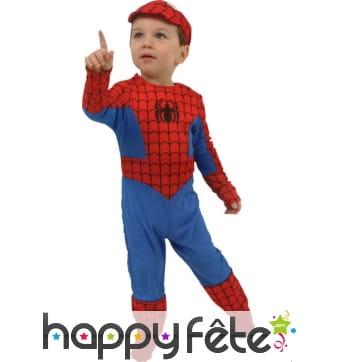 Déguisement spiderman 24 mois