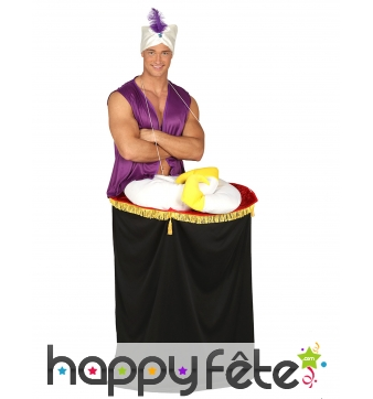 Déguisement style Aladin sur son tapis volant