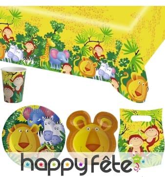 Décorations Safari d'anniversaire