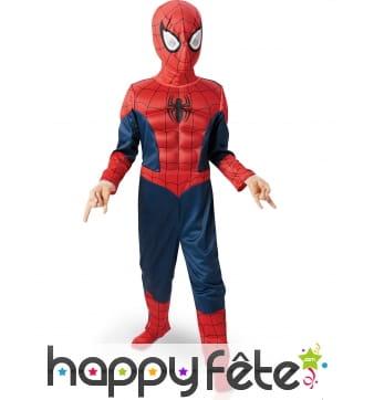 Déguisement Spider-Man Ultimate 3d pour enfant