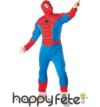 Déguisement spiderman muscle adulte